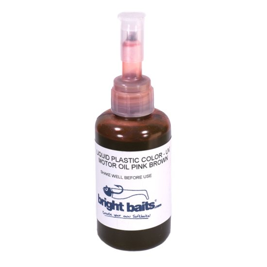Plastikfarbe Motoroil Pink Brown UV