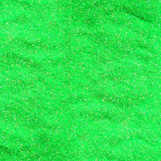 10 g Glitter grün fluo 0,008