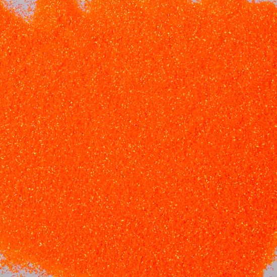 25 g Glitter orange  fluo 0,008
