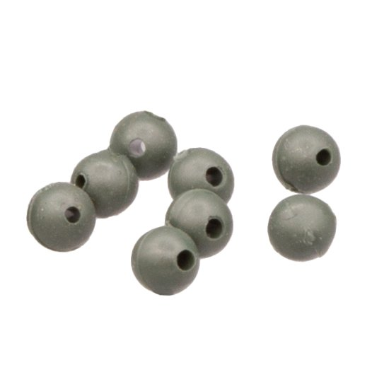 20 Gummiperlen 4 mm