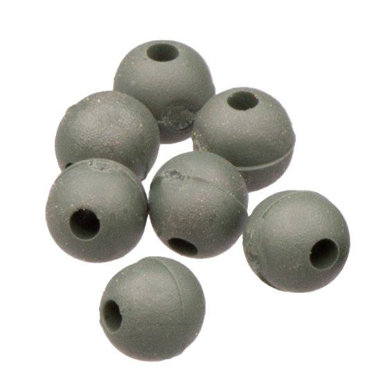 20 Gummiperlen 6 mm