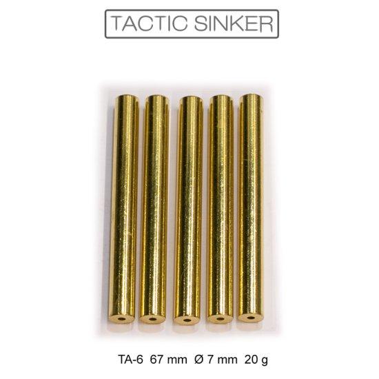5 Rohlinge TA-Sinker 67 mm