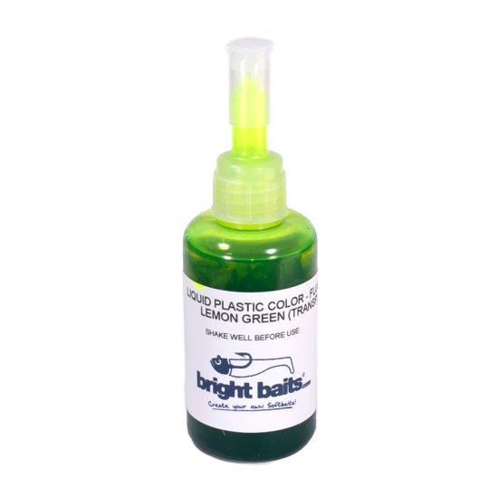 Plastikfarbe Grün transparent
