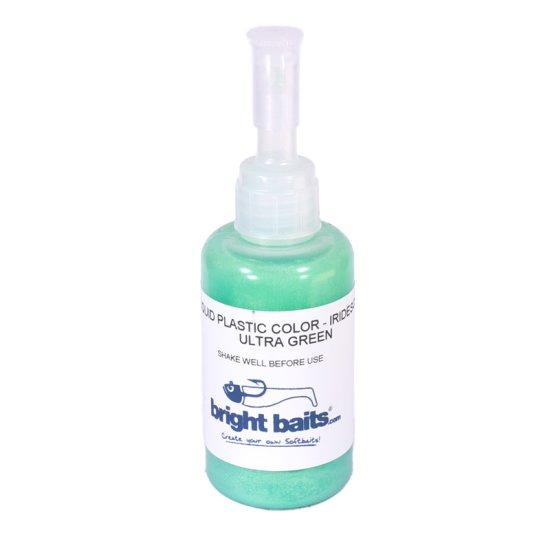 Plastikfarbe Ultra Grün schillernd