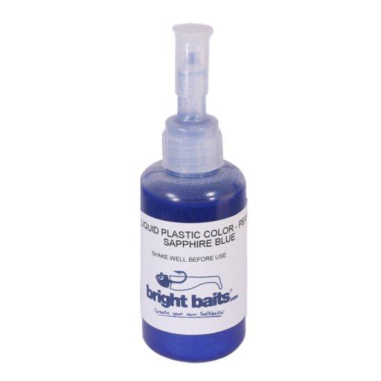 Plastikfarbe Blau Pearl