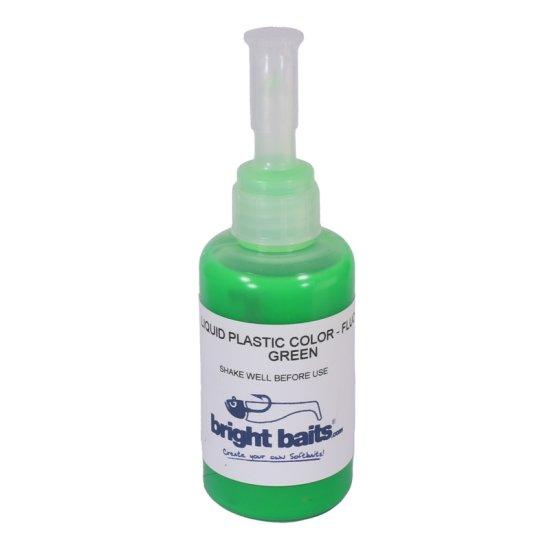 Plastikfarbe Grün fluo UV