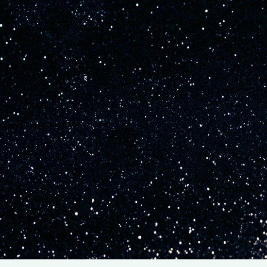 25 g Glitter Schwarz  0,04